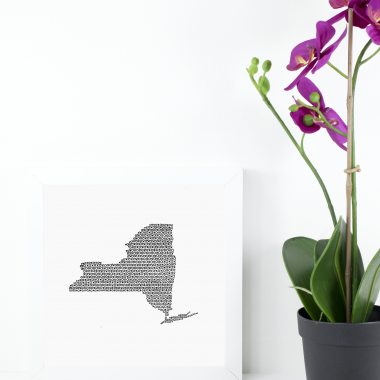 State of New York Art Print