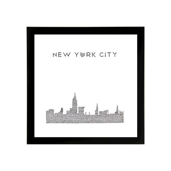 Framed New York City Skyline Art Print