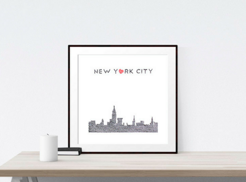 New York City Skyline Mobile